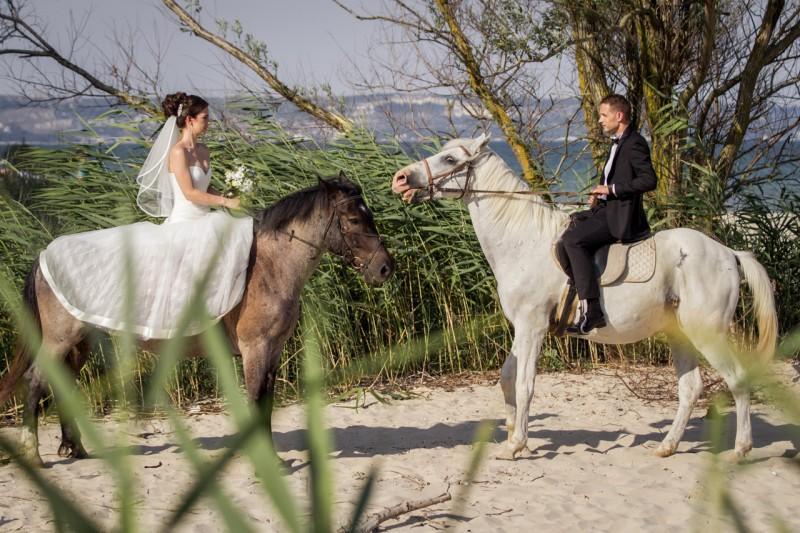 Сватбена сесия на плажа, Кранево