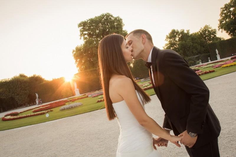 Сватбени снимки, Виена